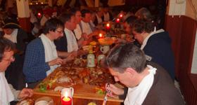 Ritteressen beim Aero-Club Fürth e.V. in Cadolzburg