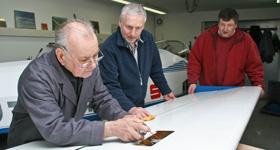 Winterbaudienst beim Aero-Club Fürth e.V.