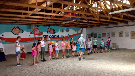 Kinderferienprogramm am 1. August auf dem Flugplatz Fürth-Seckendorf