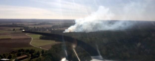 Der Aero-Club hilft bei der Waldbrandbekämpfung
