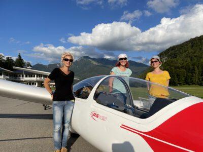 Ausflug zur Deutschen Alpensegelflugschule Unterwössen e.V. (DASSU)